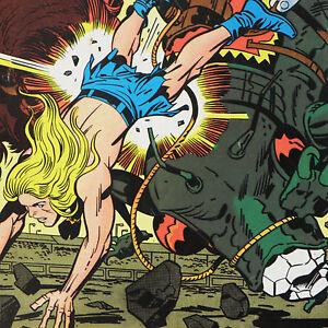 KAMANDI-14-Jack-Kirby-Feb-1974-DC-Comics-MUTANTS-ARENA-The-Last-Boy-On-EARTH