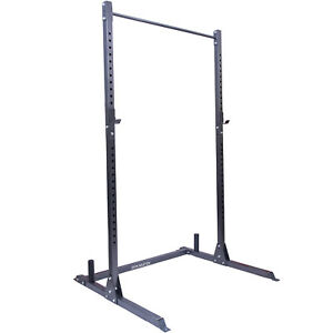 Gym Master Olympic Squat Rack Pull Up Bar Weight Lifting