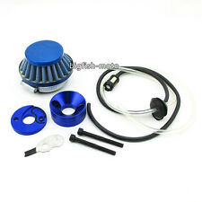 HIAORS 42mm to 44mm Blue Air Filter Cleaner for Goped 23cc Sport Iquimatic G23LH G2D Bigfoot 47cc 49cc Pocket Bike