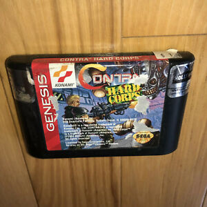 CONTRA-HARD-CORPS-Sega-Genesis-Game-AUTHENTIC-Tested-Works-2-Player-Fun-OEM