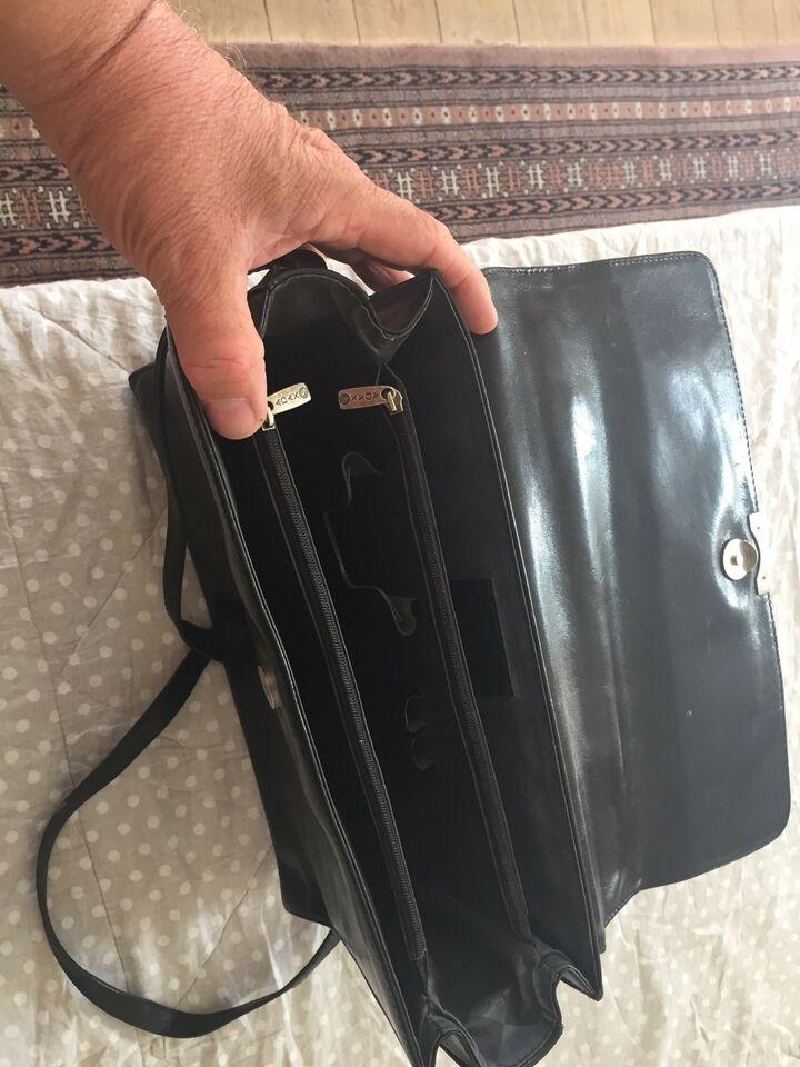 Anden håndtaske, Adax, læder