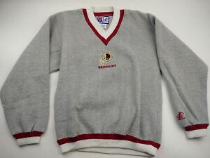 9e4a2b29 Details about Logo Athletic Washington Redskins V-Neck Sweater Vintage NFL  Men's Medium