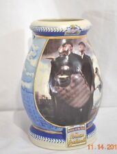Miller Beer 2001 Norman Rockwell Baseball Bottom of The Sixth Stein Mug Post COA