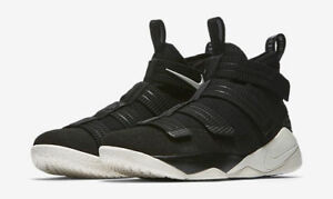 new styles b6703 5f5a7 Details about Men's Nike Lebron Soldier XI SFG Black/Sail Sizes 8-13 New In  Box 897646-004