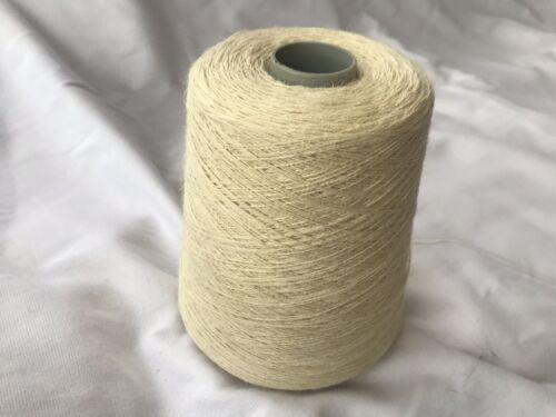 100/% natural sin teñido de hilado de cáñamo en 500 gramos Cono .2//5nm Tejer//Craft.
