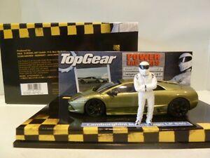 Lamborghini Murcielago Lp640 Top Gear Gris Métal Vert Minichamps 519431032 1/43