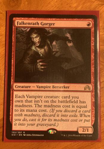 MTG Magic: the Gathering Shadows Over Innistrad Falkenrath Gorger x1