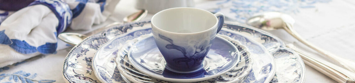 Shop Event Best of Dinner and Dessert Sets From Wedgwood, Royal Copenhagen, and Meissen.