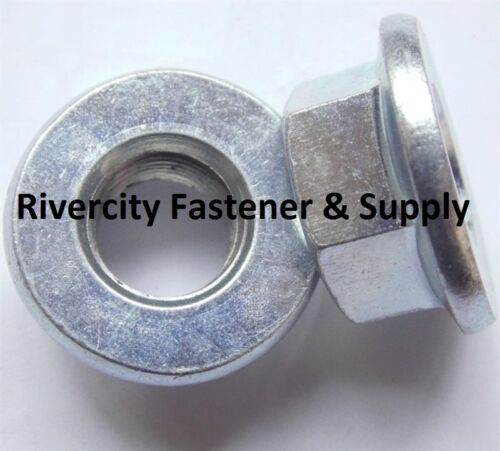 500 M10-1.25 Thread Steel Flange Spin Nut M10x1.25 Flare Nuts 10mm x 1.25