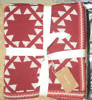 West Elm Seminole Throw Triangle Lattice Other Prints Available Pottery