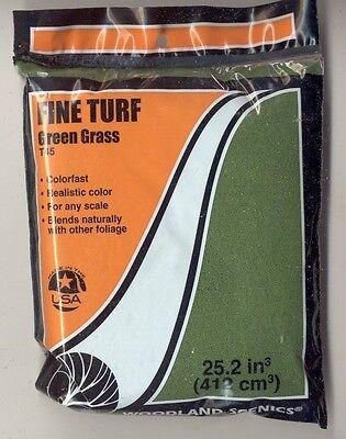 Foliage - Fine Turf T45 Green Grass  model landscape scenery 1/48 any scale
