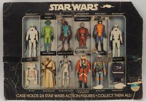 Vintage-Star-Wars-Vinyl-Action-Figure-Case-22-Back-Insert-Only-Boba-Fett