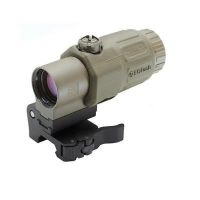 NEW EOTech G33.STS TAN 3x Power magnifier with switch to side mount TAN