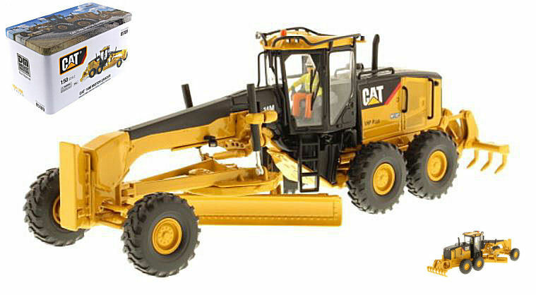 Noël, envoie de la joie Cat 14M Motor Grader 1:50 Model DIECAST MASTERS   Magnifique    Outlet Store Online    Stocker