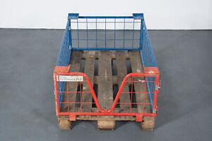 Gitterbox-12er-SET-Paletten-Gitteraufsatzrahmen-stapelbar-Stapelbox-120x80x40cm