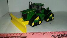 1/64 ERTL custom John deere 9570rx 4wd tractor  mtd front silage blade farm toy