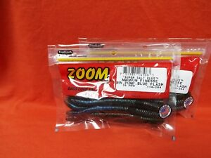 10cnt ZOOM Magnum Finesse Worm 2 PCKS #114-119 Smoke Red