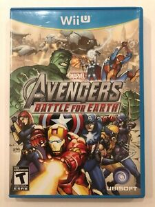 Marvel-Avengers-Battle-for-Earth-Nintendo-Wii-U-Complete-w-Case-amp-Manual