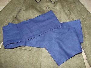 ceinture de flanelle bleu Zouave , coloniale 1940-1970.France 40 ... 21f17f9a100
