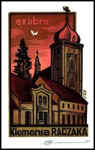 Leonenko Vasyl 1998 Exlibris X3 Religion Church Chapel Shrine Architecture 863 - Dabrowa Bialostocka, Polska - Leonenko Vasyl 1998 Exlibris X3 Religion Church Chapel Shrine Architecture 863 - Dabrowa Bialostocka, Polska
