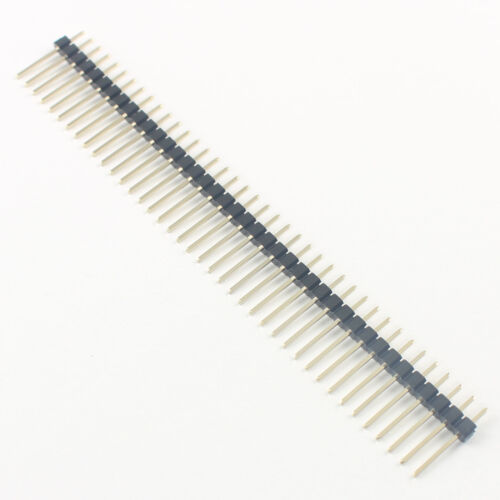 20Pcs Gold Plated 2mm 2.0mm Pitch 40 Pin Double Male Long Header Strip L= 12mm