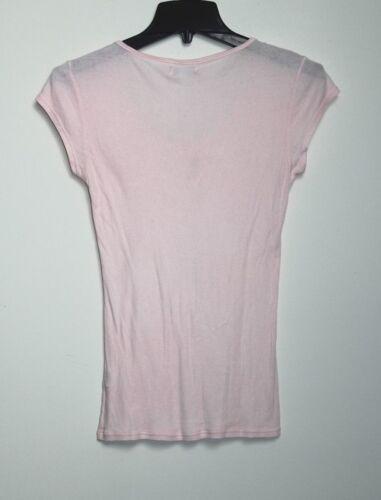 Brand M Goccia shirt Lucky Scollo Jersey S A T Maglia Rosa s d56XqqxH