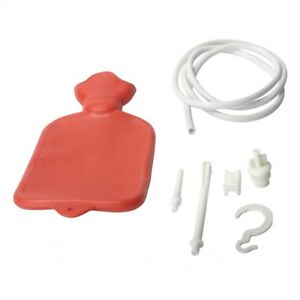 Cleanstream-Water-Bottle-Cleansing-Kit-Enema-Anal-Vaginal-Douche-System-Red
