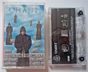 Cassette CHANT The Benedictine Monks Of Santo Domingo De Silos 1994 Angel Record