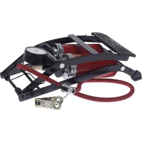 Doppelzylinder-Fußluftpumpe 1403300 Luftpumpe Fahrradluftpumpe