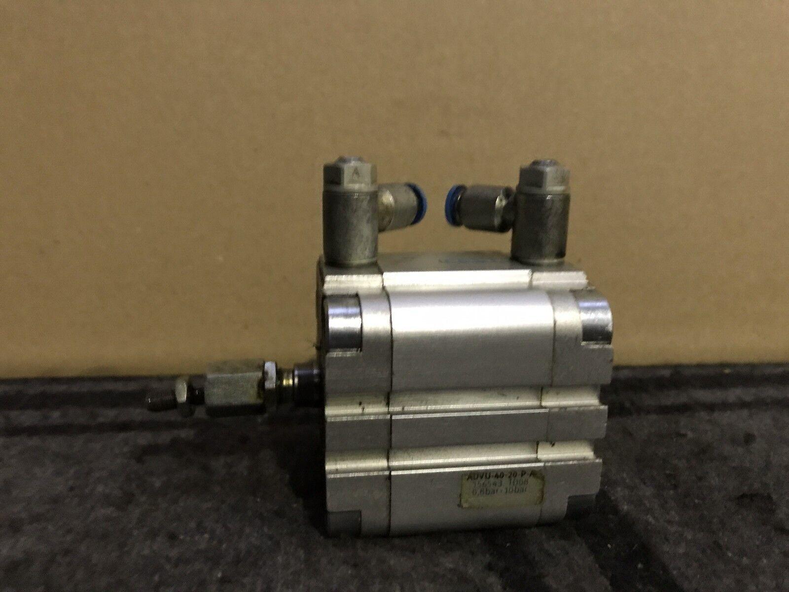 FESTO ADVU-40-20-P-A / cylinder 156543 Kompaktzylinder, short stroke cylinder / e7e7aa