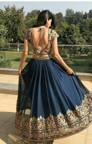 Indian Designer Lehenga Women Dress Ladies Lengha Choli India Wedding Lahenga