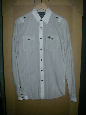 Chemise tee shirt 2 en 1 DDP homme grise taille M