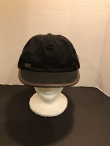Obey Propaganda Ear Flap Gray Black Cap Hat Men s Fitted Size Medium ... 6a2292bdf4be