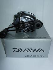 NEW DAIWA LEXA HIGH SPEED BAITCASTING REEL 7.1:1 GEAR RATIO LEXA300HSL LH