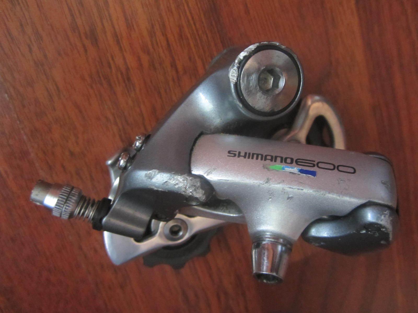 SHIMANO 600  ULTEGRA RD 6401 SHORT CAGE REAR  DERAILLEUR  incredible discounts