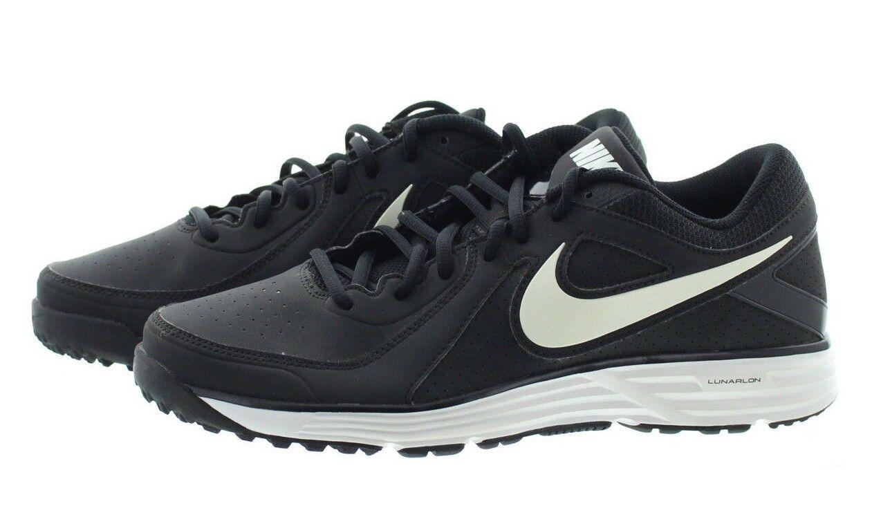 71cf55db146 Nike Nike Nike 524640 Mens Lunar MVP Pregame Baseball Low Top Training Shoes  Sneakers ba0dc8