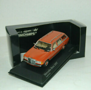Mercedes-benz-W-123-coche-familiar-T-modelo-200-T-naranja-1980-Minichamps-1-43