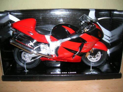 GSX 1300 R Hayabus rot schwarz 1:12 Motorrad Automaxx Suzuki GSX 1300R