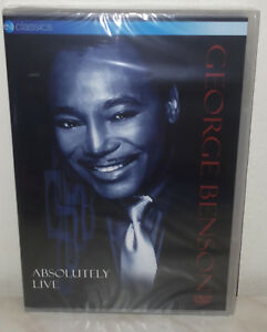 DVD-GEORGE-BENSON-ABSOLUTELY-LIVE-NUOVO-NEW