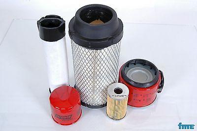 Filterset Atlas Copco QAS 38 YDS Motor Yanmar 4TNE98 bis Baujahr 2005 Filter