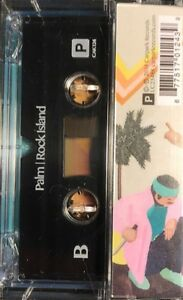 Palm-ROCK-ISLAND-MP3s-CARPARK-RECORDS-New-Sealed-Clear-Cassette-Tape
