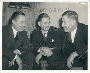 Details about 1940 Temple Univ Football Coaches H Franka Ray Morrison J  Cody Press Photo