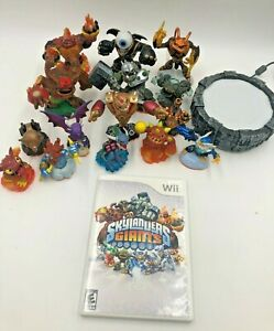 Nintendo-Wii-Skylanders-Giants-Set-15-figures