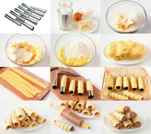 Pastry Cream Horn Baking Mold Set