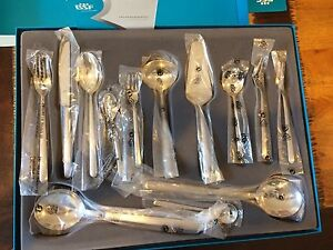 New J A Henckels Bsf 68 Piece Chiaro Cutlery Set Matte