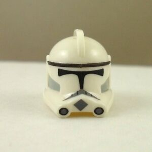 Lego-Star-Wars-Custom-Phase-2-Clone-Trooper-Helmet-No-Fin-White