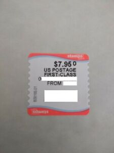 USPS Priority Mail STAMP for USPS Flat Rate Envelope (Fast Shipping) $7.95