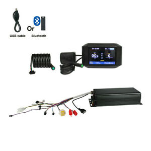 EU-zollfrei-48-72V-3000-5000W-24-MOSFET-100A-eBike-Controller-750C-Farbdisplay