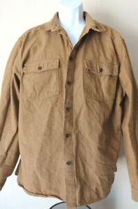 Goodfellow-amp-Co-GOLD-MUSTARD-BUTTON-SHIRT-Brown-Men-039-s-Dress-Long-Sleeve-Brown