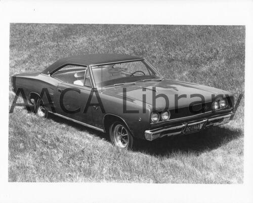 Ref. # 38921 1968 Dodge Coronet RT Two Door Hardtop Factory Photo